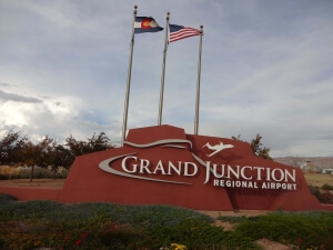 Grand Junction Airport Sign